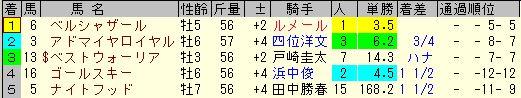 武蔵野2013結果